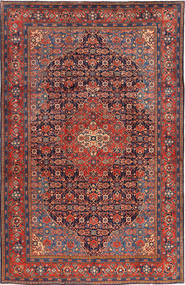 Mahal Rug 228X350 Authentic  Oriental Handknotted Dark Red/Dark Grey (Wool, Persia/Iran)