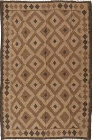 Kilim Maimane Dywan 165X250 Orientalny Tkany Ręcznie Brązowy/Jasnobrązowy (Wełna, Afganistan)