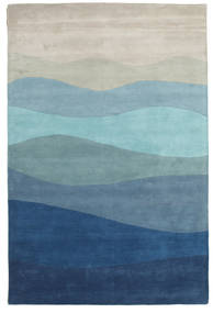 Feeling Handtufted - Blue Rug 300X400 Modern Light Blue/Dark Blue/Light Grey Large (Wool, India)