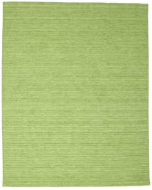 Kilim Loom - Green Rug 200X250 Authentic  Modern Handwoven Light Green/Olive Green (Wool, India)