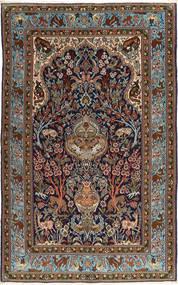 Ghom Sherkat Farsh Matta 153X253 Äkta Orientalisk Handknuten Mörkröd/Ljusbrun (Ull, Persien/Iran)
