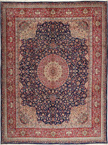 Kerman Sherkat Farsh Rug 308X405 Authentic  Oriental Handknotted Dark Purple/Light Brown Large (Wool, Persia/Iran)