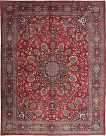 Mashad Rug 295X388 Authentic  Oriental Handknotted Dark Brown/Dark Red Large (Wool, Persia/Iran)