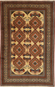 Ardebil Tapijt 166X257 Echt Oosters Handgeknoopt Lichtbruin/Bruin (Wol, Perzië/Iran)