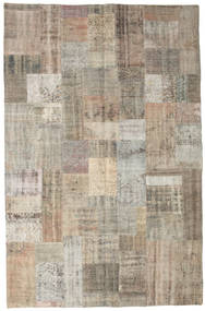 Patchwork Rug 200X306 Authentic  Modern Handknotted Light Brown (Wool, Turkey)
