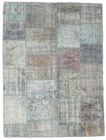 Patchwork Rug 171X231 Authentic  Modern Handknotted Light Grey (Wool, Turkey)
