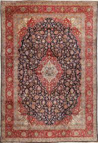 Keshan Matto 333X490 Itämainen Käsinsolmittu Tummanpunainen/Vaaleanruskea Isot (Villa, Persia/Iran)