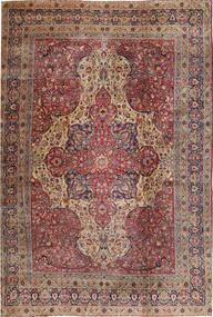 Mashad Matta 360X495 Äkta Orientalisk Handknuten Ljusbrun/Brun Stor (Ull, Persien/Iran)