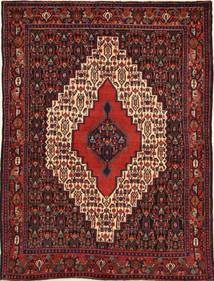 Senneh Alfombra 120X160 Oriental Hecha A Mano Rojo Oscuro/Marrón Oscuro (Lana, Persia/Irán)