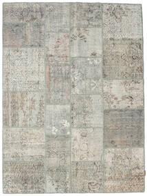 Patchwork Rug 172X230 Authentic  Modern Handknotted Light Grey/Dark Grey (Wool, Turkey)