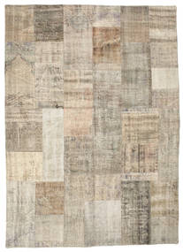 Patchwork Rug 174X241 Authentic  Modern Handknotted Light Brown (Wool, Turkey)