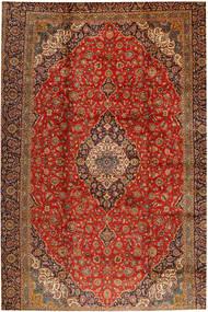 Keshan Matto 398X618 Itämainen Käsinsolmittu Ruoste/Vaaleanruskea Isot (Villa, Persia/Iran)