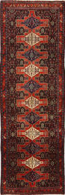 Senneh Rug 163X514 Authentic  Oriental Handknotted Hallway Runner  Dark Red/Dark Brown (Wool, Persia/Iran)