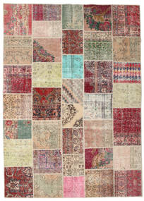 Patchwork Rug 250X352 Authentic  Modern Handknotted Light Brown/Beige Large (Wool, Turkey)