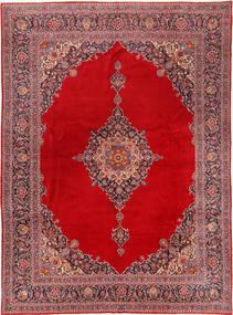 Keshan Matto 320X428 Itämainen Käsinsolmittu Punainen/Tummanpunainen Isot (Villa, Persia/Iran)
