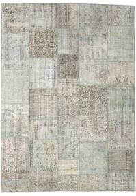 Patchwork Rug 251X351 Authentic  Modern Handknotted Light Grey Large (Wool, Turkey)