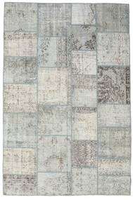 Patchwork Rug 198X300 Authentic  Modern Handknotted Light Grey/Dark Beige (Wool, Turkey)