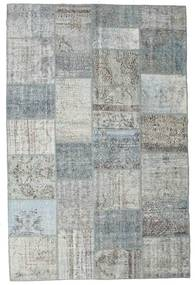 Patchwork Rug 198X301 Authentic  Modern Handknotted Light Grey/Dark Grey (Wool, Turkey)