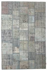 Patchwork Rug 201X300 Authentic  Modern Handknotted Light Grey (Wool, Turkey)