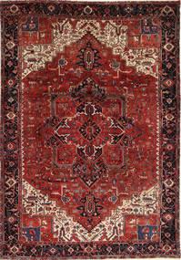 Heriz Alfombra 260X372 Oriental Hecha A Mano Rojo Oscuro/Marrón Oscuro Grande (Lana, Persia/Irán)