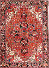 Heriz Rug 293X406 Authentic  Oriental Handknotted Rust Red/Dark Brown Large (Wool, Persia/Iran)