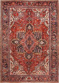 Heriz Matto 288X403 Itämainen Käsinsolmittu Ruskea/Ruoste Isot (Villa, Persia/Iran)