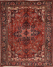 Heriz Rug 276X352 Authentic Oriental Handknotted Dark Red/Black Large (Wool, Persia/Iran)