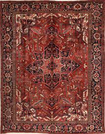 Heriz Rug 276X352 Authentic  Oriental Handknotted Dark Red/Black Large (Wool, Persia/Iran)