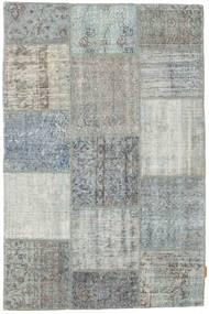 Patchwork Rug 118X181 Authentic  Modern Handknotted Light Grey (Wool, Turkey)