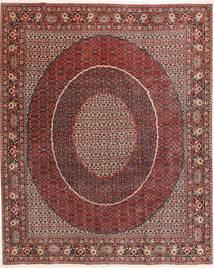 Bidjar Vloerkleed 250X305 Echt Oosters Handgeknoopt Vierkant Donkerrood/Donkerbruin Groot (Wol, Perzië/Iran)