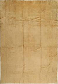 Kerman Teppe 275X388 Ekte Orientalsk Håndknyttet Lysbrun/Mørk Beige Stort (Ull, Persia/Iran)