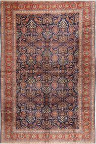 Sarough Matto 304X488 Itämainen Käsinsolmittu Tummanharmaa/Tummanpunainen Isot (Villa, Persia/Iran)