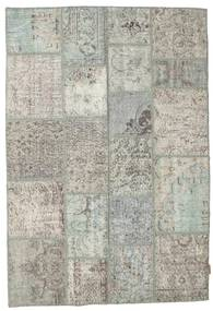 Patchwork Rug 137X200 Authentic  Modern Handknotted Light Grey/Dark Grey (Wool, Turkey)