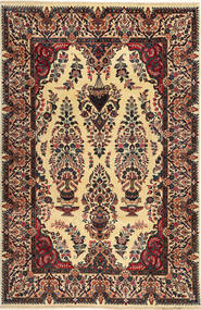 Kashmar Rug 197X300 Authentic  Oriental Handknotted Light Brown/Black (Wool, Persia/Iran)