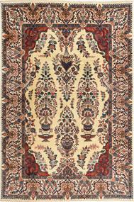 Kashmar Matto 197X300 Itämainen Käsinsolmittu Tummanruskea/Tummanbeige (Villa, Persia/Iran)