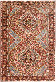 Bakhtiar Alfombra 215X315 Oriental Hecha A Mano Rojo Oscuro/Marrón (Lana, Persia/Irán)