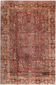 Saruk Tappeto 368X543 Orientale Fatto A Mano Rosso Scuro/Marrone Scuro Grandi (Lana, Persia/Iran)