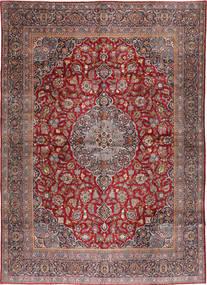 Keshan Matto 324X455 Itämainen Käsinsolmittu Vaaleanruskea/Tummanpunainen Isot (Villa, Persia/Iran)