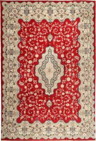 Keshan Matto 345X494 Itämainen Käsinsolmittu Vaaleanruskea/Ruoste Isot (Villa, Persia/Iran)