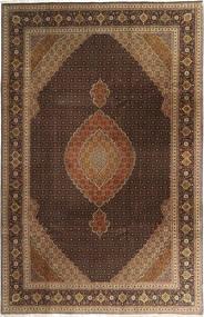 Tabriz 50 Raj Rug 200X308 Authentic  Oriental Handknotted Dark Brown/Brown/Light Brown (Wool, Persia/Iran)