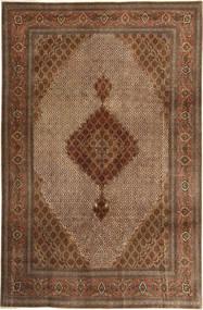 Tabriz 50 Raj Rug 197X308 Authentic  Oriental Handknotted Brown/Light Brown/Dark Brown (Wool, Persia/Iran)