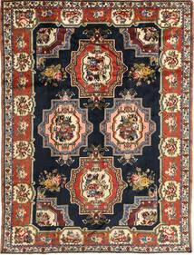 Bakhtiar Vloerkleed 207X275 Echt Oosters Handgeknoopt Donkerblauw/Bruin (Wol, Perzië/Iran)