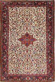 Heriz Rug 207X304 Authentic  Oriental Handknotted Dark Red/Brown (Wool, Persia/Iran)