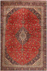 Keshan Matto 390X530 Itämainen Käsinsolmittu Tummanpunainen/Ruoste Isot (Villa, Persia/Iran)