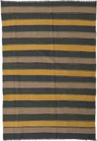 Kilim Rug 170X247 Authentic  Oriental Handwoven Dark Grey/Light Brown (Wool, Persia/Iran)