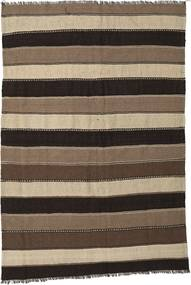 Kilim Rug 170X250 Authentic  Oriental Handwoven Dark Brown/Light Brown (Wool, Persia/Iran)