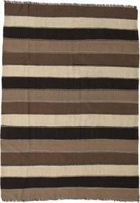 Kilim Rug 170X240 Authentic  Oriental Handwoven Dark Brown/Brown (Wool, Persia/Iran)