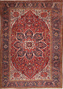 Heriz Rug 280X398 Authentic  Oriental Handknotted Dark Red/Brown Large (Wool, Persia/Iran)