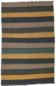 Kilim Rug 168X255 Authentic  Oriental Handwoven Light Brown/Dark Grey (Wool, Persia/Iran)