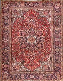 Heriz Alfombra 266X345 Oriental Hecha A Mano Rojo Oscuro/Marrón Oscuro Grande (Lana, Persia/Irán)